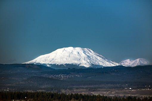 Mt St, Helens, Volcano, Washington, Scenic, Northwest