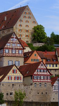 Historic Center, City, European City, Truss