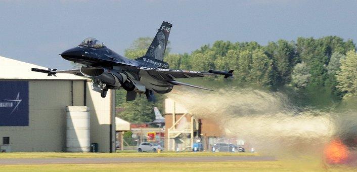F16, Riat, Belgian Air Force, Viper, Takeoff, Jet