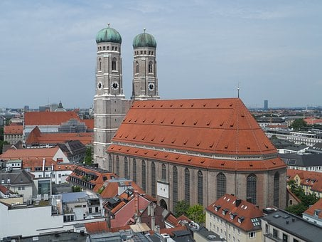Frauenkirche, Munich, Church, Towers, Monument