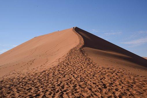 Dune45, Dune, Africa, Namibia, Sand, Desert, Nature