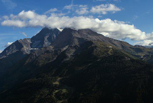 Mountains, Landscape, Nature, Sky, Clouds, Hill