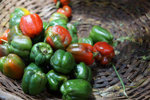 Chili, Red, Sharp, Eat, Spice, Pods, Capsicum