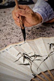 Calligraphy, Brush, Character, Symbols, Writing, Signs