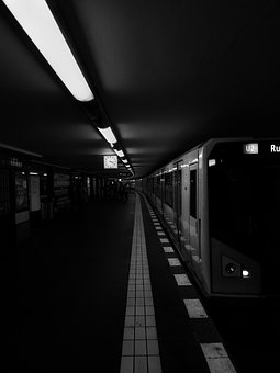 Metro, Train, Transport, Urban, Trip, Station, Railroad
