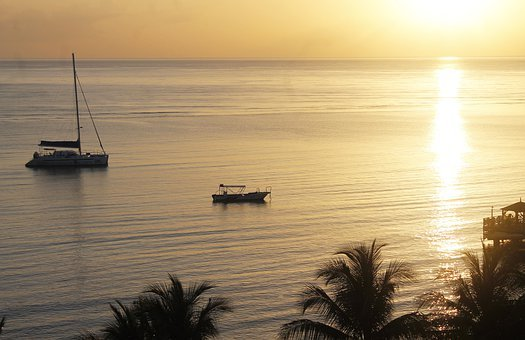 Sunrise, Sunset, Nature, Sky, Water, Outdoors, Beach
