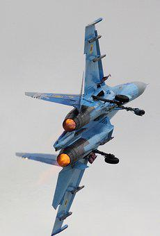 Su27, Jet, Fighter, Airplane, Aircraft, Sukhoi, Su-27