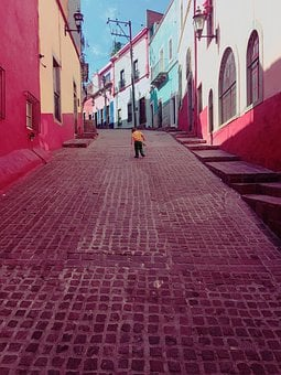 Guanajuato, Mexico, Colorful, Mexican, Architecture