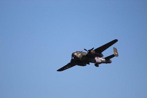 Warbird, Vintage, Bomber, Aircraft, Aviation, Plane