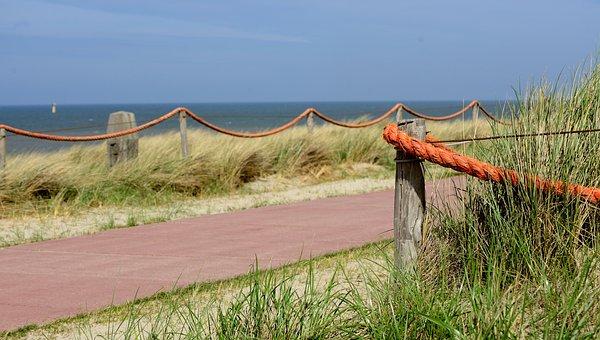 Away, Beach, Sea, Island, Texel, Landscape, North Sea