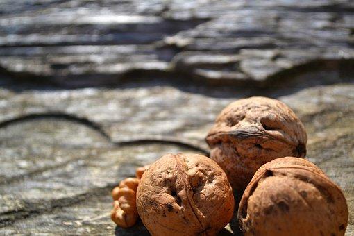 Food, Nuts, Wood, Brown, Organic, Nature, Diet, Healthy