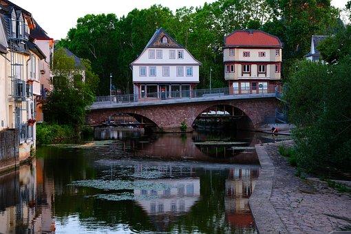 Bridge Houses, Architecture, Facade, Building, Window