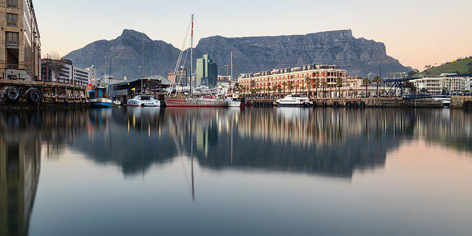 Architecture, Blue, Boat, Boats, Building, Cape Town