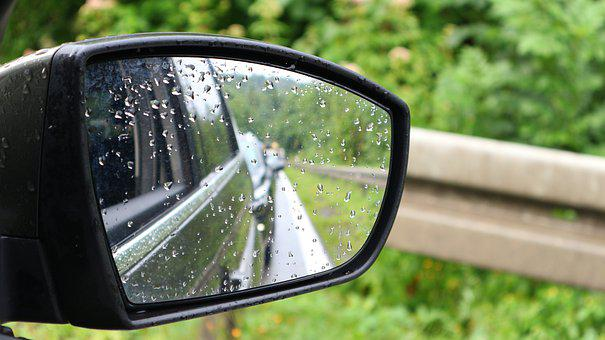 Car, Auto, Travel, Horse, Car Mirror, Rearview Mirror