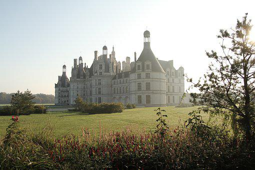 Castel, Castle, Chambord, Tours, France, Building