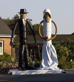 Bride And Groom, Celebration, Wedding, Love, Romantic