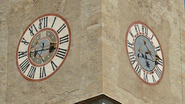 Church, Clock, Clock Tower, Architecture, Building