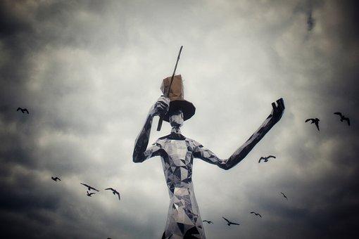 Conductor, Human, Gull, Cloud, Performance, Harmony