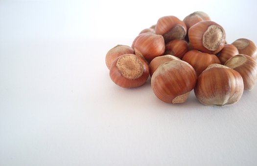 Hazelnuts, Nuts, Food, Brown, Eat, Nutrition, Delicious