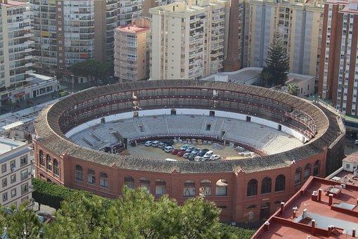 Malaga, Bull Ring, Canary Islands, Gibralfaro Hill