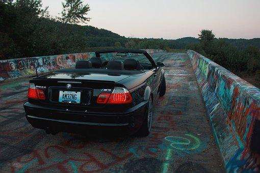 Car, Bridge, Highway, Road, Auto, Automotive, Urban