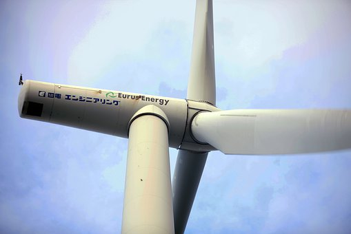 Wind Turbine, Energy, Natural, Electrical, Huge