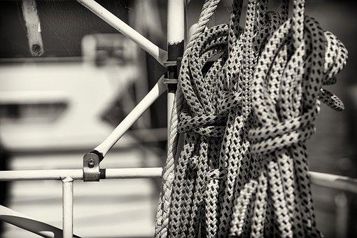 Rope, Leash, Knitting, Dew, Cordage, Fixing, Ship, Boat