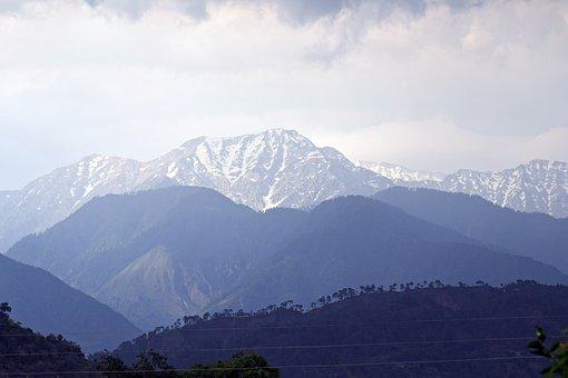 Mountains, Snow, Landscape, Winter, Nature