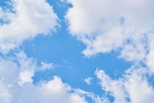 Cloud, Blue, Sky, Clouds, Nature, Summer, Air, Color