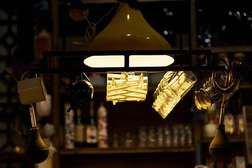 Bar, Glasses, Night, Light, Cup, Pub, Beverage