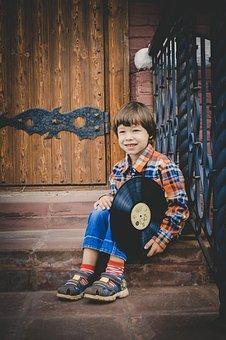 Boy, Smile, Record, Baby, People, Cute, Kids, Portrait