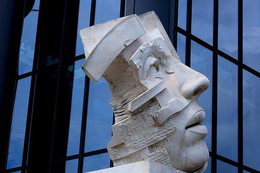 Face, Sculpture, Statue, Figure, Head, Stone