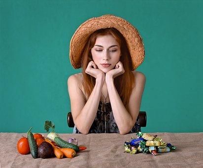 Slimming, Diet, Health, Sugar, Vegetables, Calories