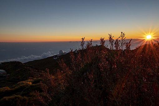 Roches De La Muchachos, Sunset, La Palma