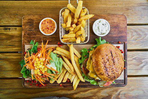 Burger, Food, Meat, Delicious, Cheeseburger, Tomato