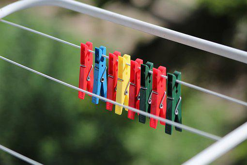 Paper Clips, Wash, Buckles, Plastic, Clasp, Clothing