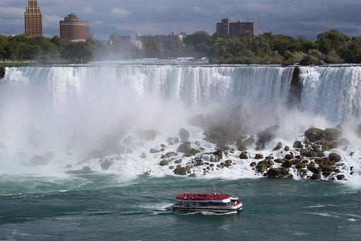 Niagara Falls, American Falls, Maid Of The Mist, Water