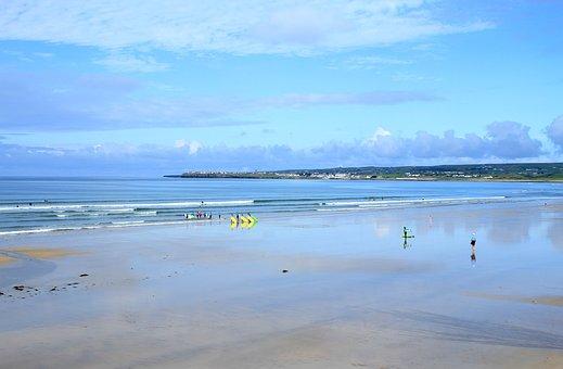 Beach, Surfing, Surf, Water, Ocean, Summer, Surfer