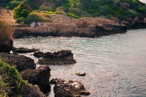 Nature, Sea, Rocks, Water, Landscape, Beach, Summer
