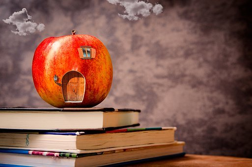 Back-to-school, Home Of Apple, Worm Apple