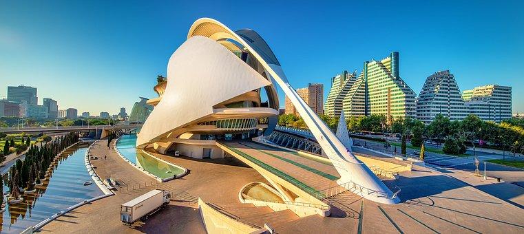 Valencia, Palau De Les Arts Reina Sofía, Architecture