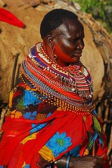 Samburu, Tribe, Kenya, Beads, Ceremony, Africa, Wedding