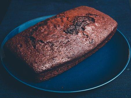 Sponge Cake, Cake, Pie, Chocolate