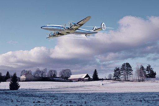 Photomontage, Aircraft, Constellation, Flight, History