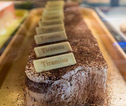 Tiramisu, Dessert, Food, Cake, Chocolate, Delicious