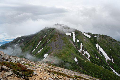 Mountainous Landscape, Due To Bad Weather, Trail