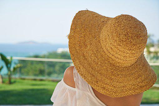 Woman, Fashion, Hat, Wire Mesh, Summer, Holiday