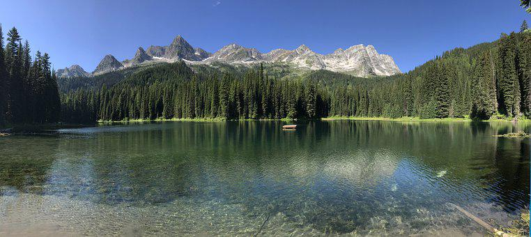 Island, Fernie, Scenic, Water, Nature, Mountains