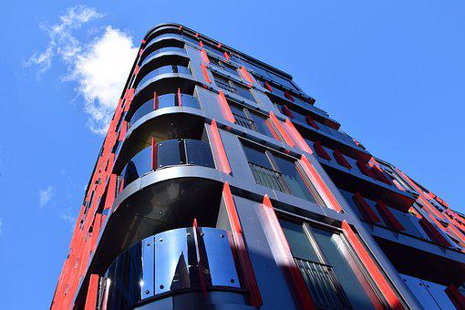 Architecture, Futuristic, Modern, Building, Perspective