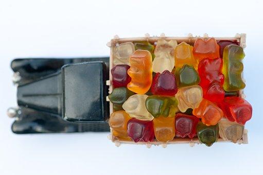 Haribo, Jelly, Bear, Sugar, Colorful, Sweet